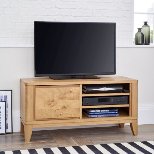 High Park Pippy Oak Small TV Unit - High Park Furniture