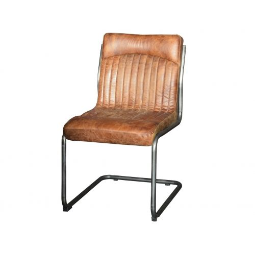 Hipster Vintage Brown Retro Dining Chair