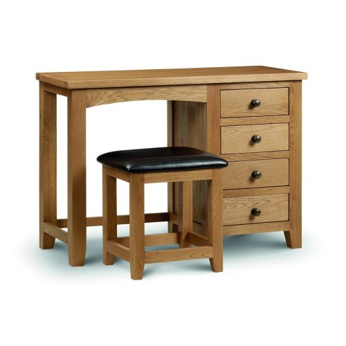 Kent Oak Single Pedestal Dressing Table