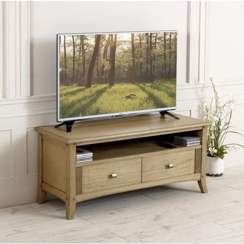 Lincoln Ash 2 Drawer TV Unit