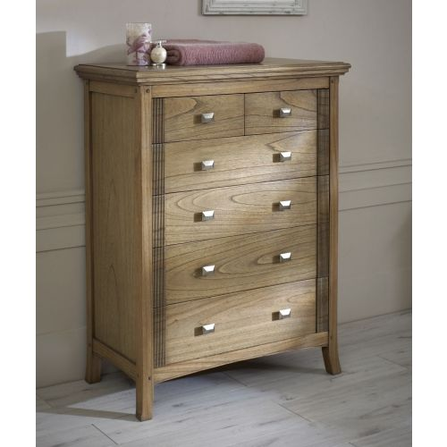 Lincoln Ash 6 Drawer Chest