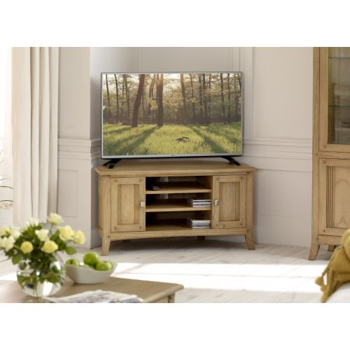 Lincoln Ash Corner TV Unit