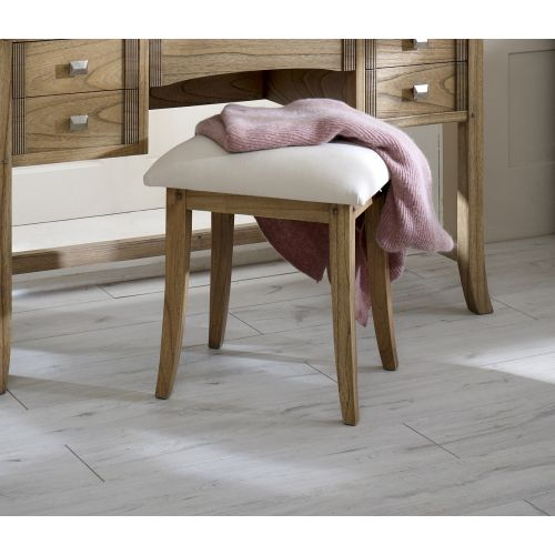 Lincoln Ash Dressing Table Stool