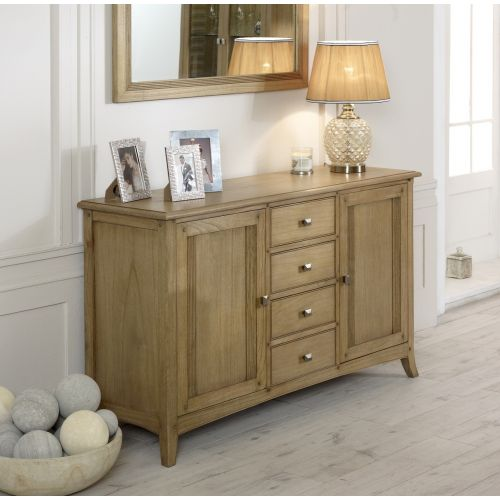 Lincoln Ash Large 2 Door Sideboard
