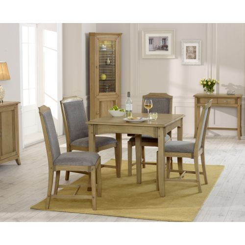 Lincoln Ash Small Extending Dining Table