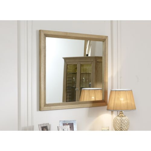 Lincoln Ash Small Wall Mirror