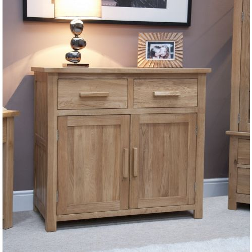 Opus Solid Oak Small 2 Door Sideboard