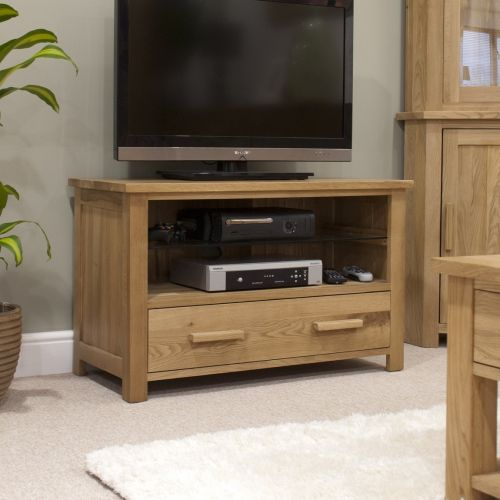 Opus Solid Oak TV Cabinet