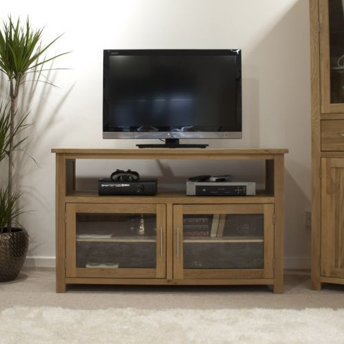 Opus Solid Oak TV Entertainment Unit