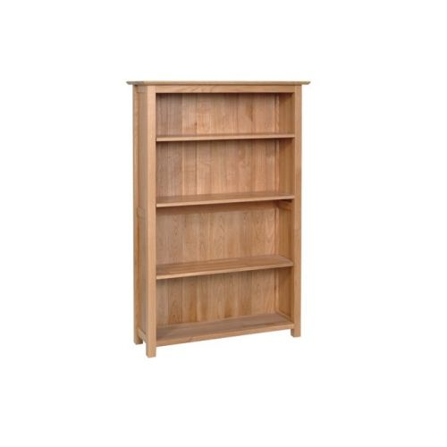 Oxford Contemporary Oak 5ft Bookcase