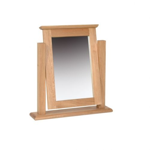 Oxford Contemporary Oak Dressing Table Mirror