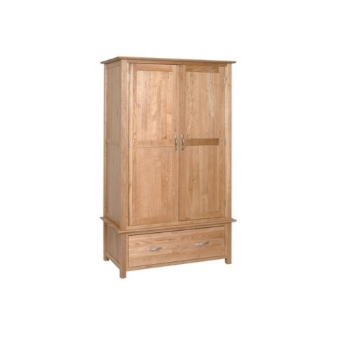 Oxford Contemporary Oak Gents Wardrobe