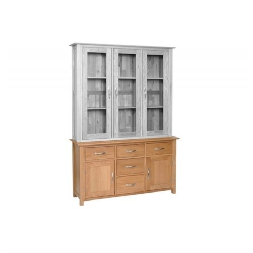Oxford Contemporary Oak Large 2 Door Sideboard