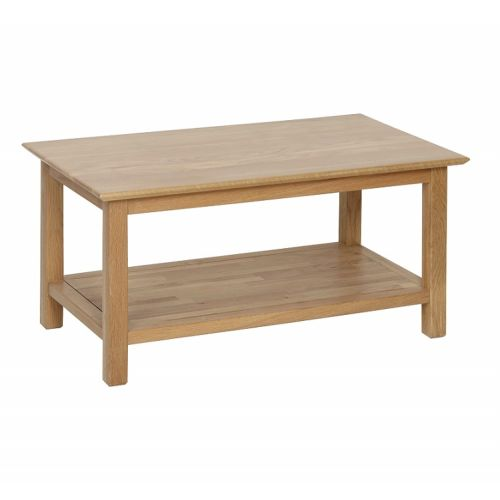 Oxford Contemporary Oak Large Coffee Table
