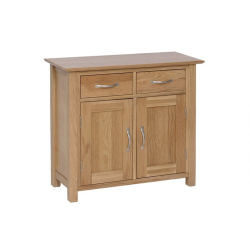 Oxford Contemporary Oak Small 2 Door Sideboard