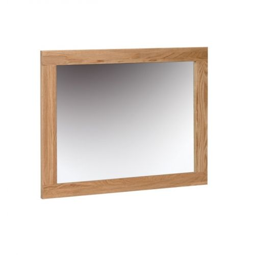 Oxford Contemporary Oak Wall Mirror 75x60cm
