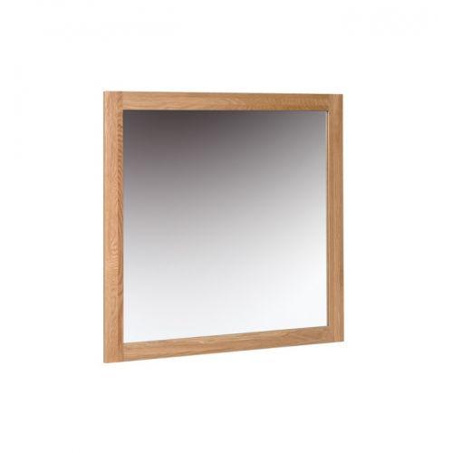Oxford Contemporary Oak Wall Mirror 90x90cm