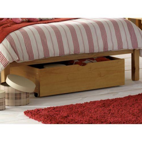 Pine Under Bed Storage Drawer