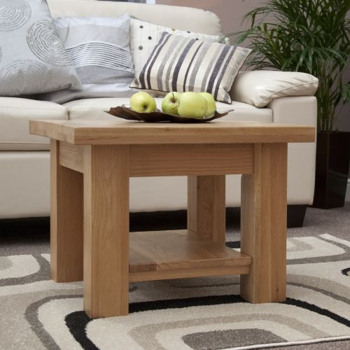 Torino Solid Oak Coffee Table/Lamp Table