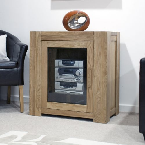 Trend Solid Oak Hi-Fi Cabinet/Unit