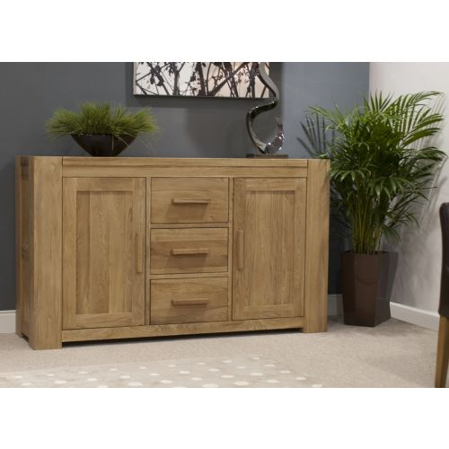 Trend Solid Oak Large 2 Door Sideboard