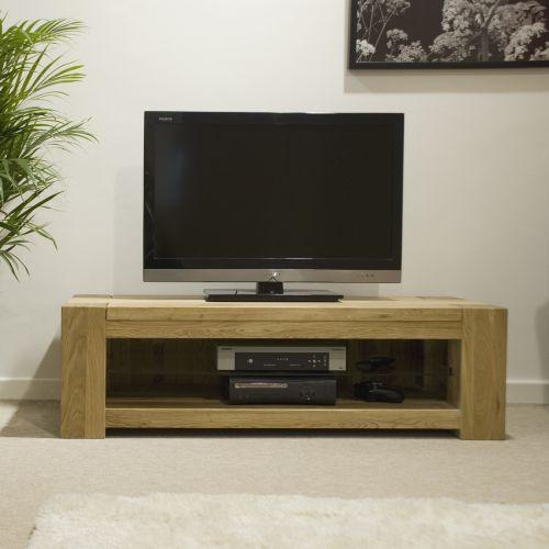 Trend Solid Oak Plasma TV Unit