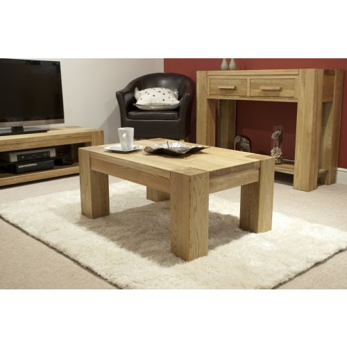 Trend Solid Oak Small Coffee Table