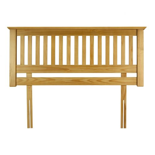 "Trent Solid Pine 4' 6"" Double Headboard"