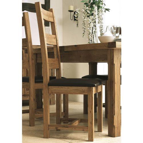 Windermere Solid Oak Ladder Back Dining Chair