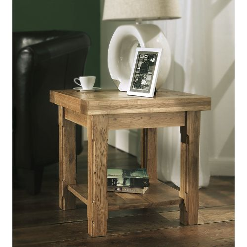 Windermere Solid Oak Lamp Table