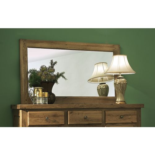 Windermere Solid Oak Large Wall Mirror