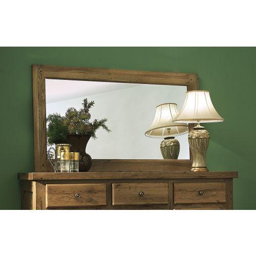 Windermere Solid Oak Large Wall Mirror