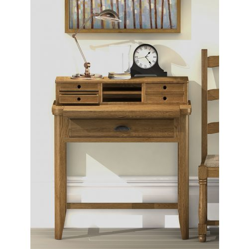 Windsor Oak Compact Writing Desk