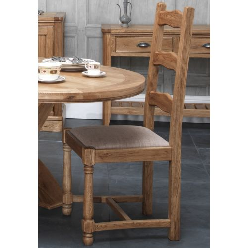 Windsor Oak Ladder Back Dining Chair KD
