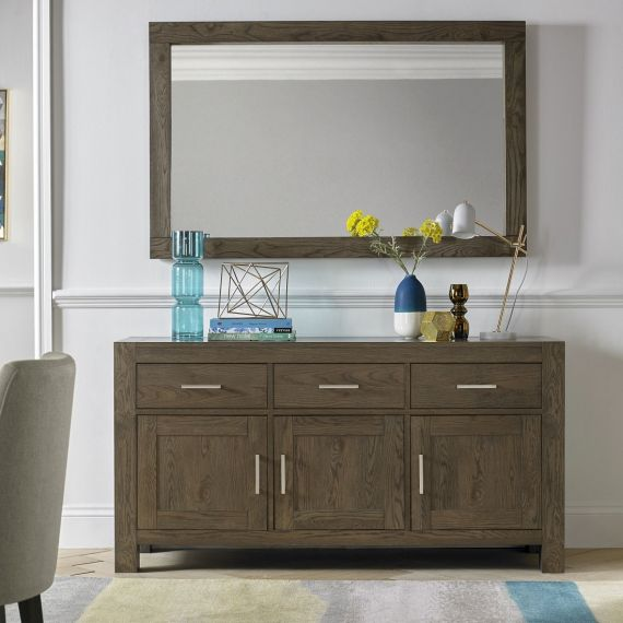 Turin Dark Oak Large Sideboard