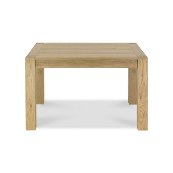 Turin Light Oak Small Extending Dining Table