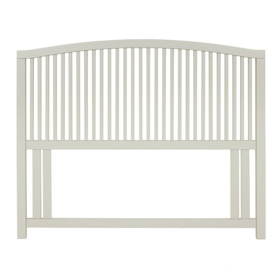 Ashby Cotton Painted Slatted Double Headboard - Ashby Bedroom Furniture