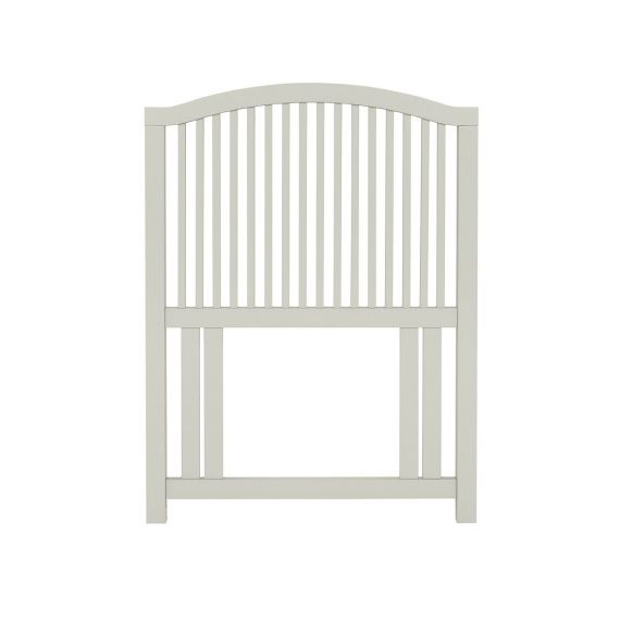 Ashby Cotton Painted Slatted Single Headboard - Ashby Bedroom Furniture