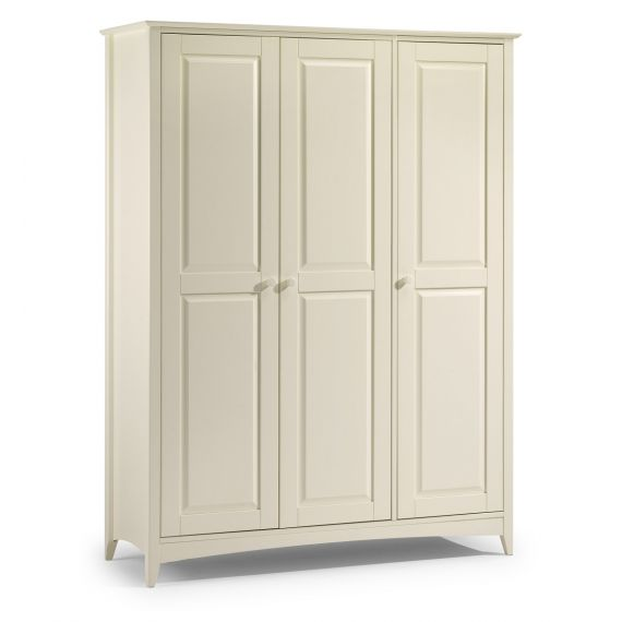 Aspen White 3 Door Triple Wardrobe