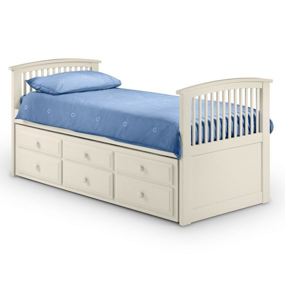 Aspen White 3' Single Cabin Bed