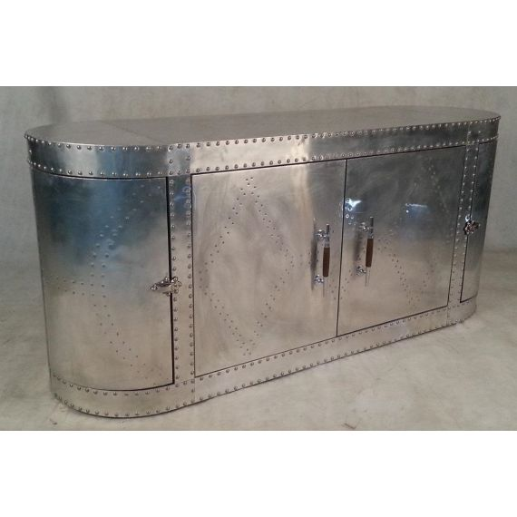 Aviator Aluminium Large Sideboard