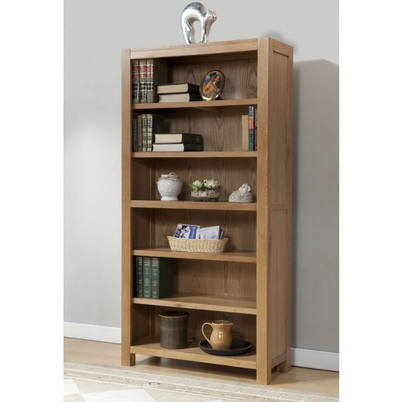 Aylesbury Contemporary Light Oak 6ft Bookcase