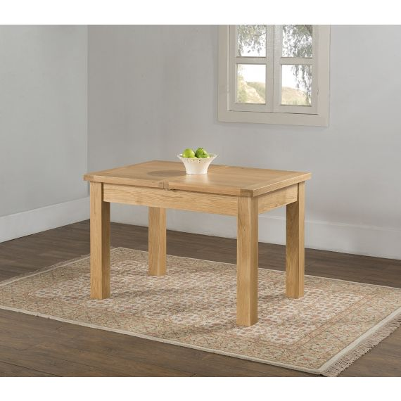 Aylesbury Contemporary Light Oak Extending Dining Table