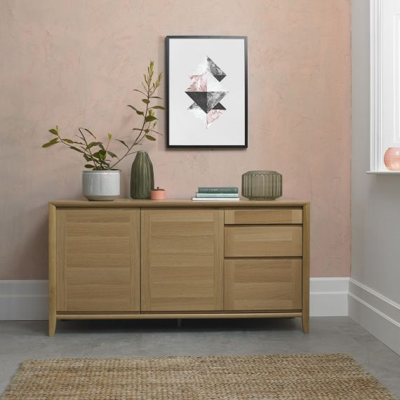 Bergen Oak Large Sideboard
