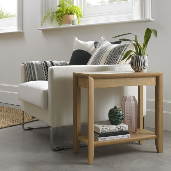 Bergen Oak Side Table