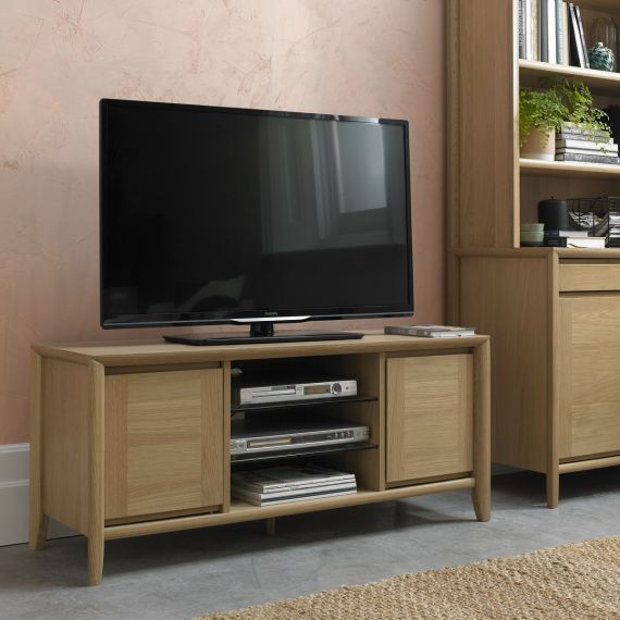 Bergen Oak TV Unit