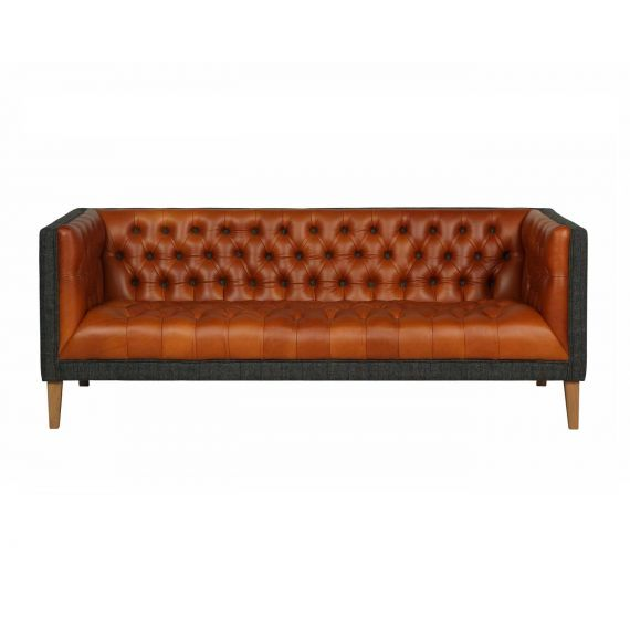 Bristol Club 4 Seater Vintage Sofa