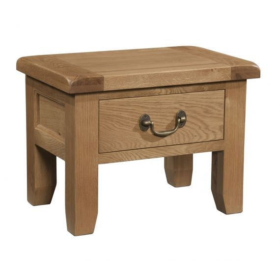 Buttermere Light Oak 1 Drawer Bedside Table