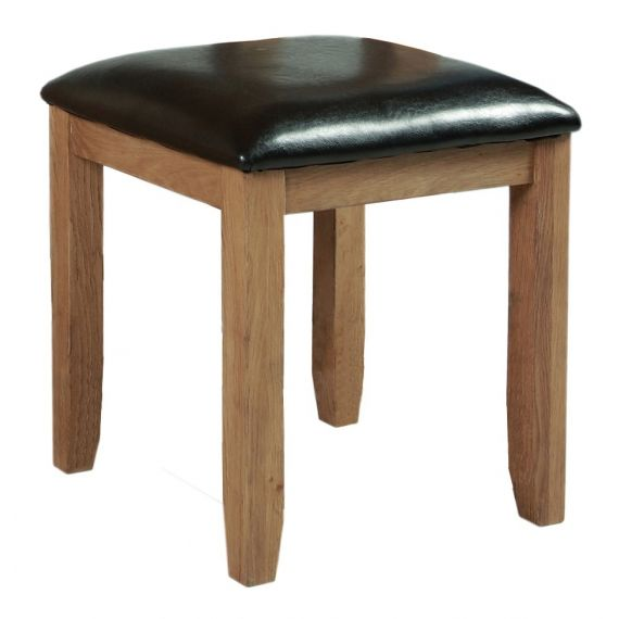 Buttermere Light Oak Dressing Table Stool