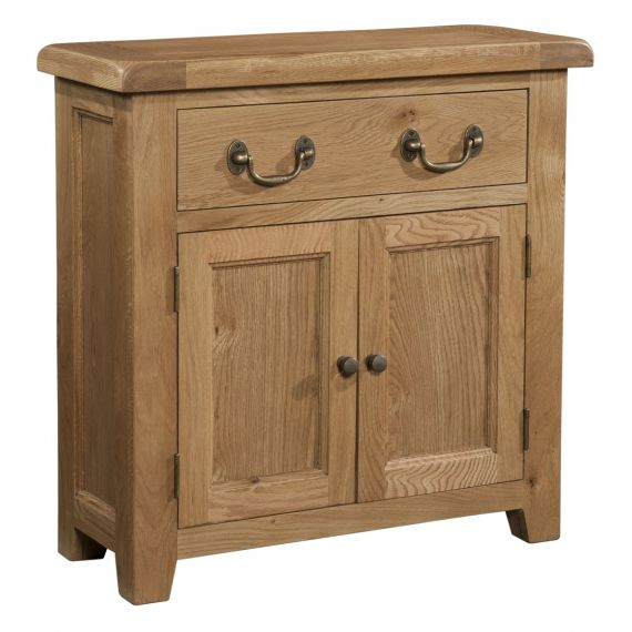 Buttermere Light Oak Small Sideboard with Drawer